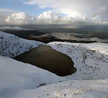 Mangerton mountain winter view by John Quinn