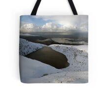 Mangerton mountain winter view Tote Bag