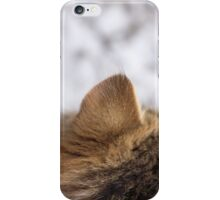 Ear view iPhone Case/Skin