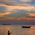 Fishing by Steven  Siow