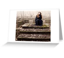 The stair to nowhere Greeting Card