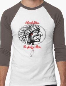 Redskins & Safetypins Men's Baseball ¾ T-Shirt