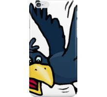 Cartoon Crow iPhone Case/Skin
