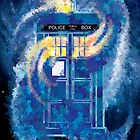 TARDIS Doctor Who Police Box by Carl Huber