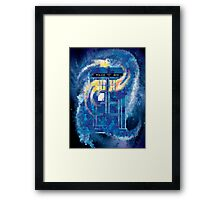 TARDIS Doctor Who Police Box Framed Print
