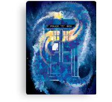TARDIS Doctor Who Police Box Canvas Print