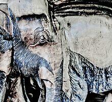 Elephant Statues by FuriousEnnui
