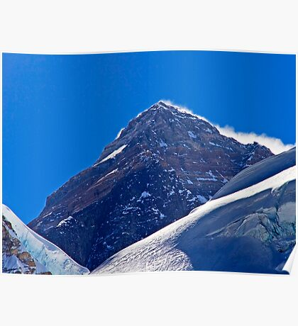 The Highest Point on Earth Poster
