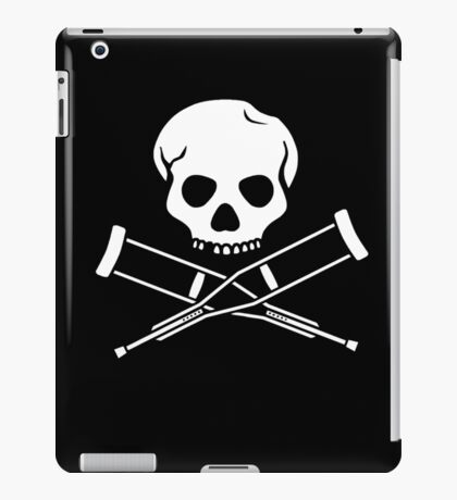 Try, try, try. Extreme sports SKULL iPad Case/Skin
