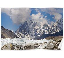 Khumbu Glacier, Nepal Poster