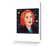 Mulder No Greeting Card