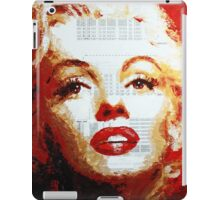 Marilyn - Blue Print iPad Case/Skin