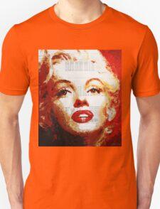 Marilyn - Blue Print T-Shirt