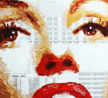 Marilyn - Blue Print Sticker