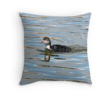 A Coot Chick Throw Pillow