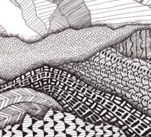 Patterns on Patagonia Sticker