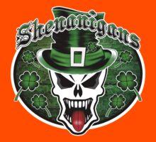 Leprechaun Skull 2.1: Shenanigans Kids Clothes