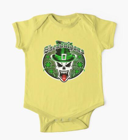 Leprechaun Skull 2.1: Shenanigans One Piece - Short Sleeve