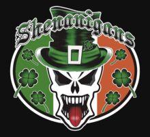 Leprechaun Skull 2.1: Shenanigans Kids Tee