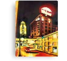 Untitled in Red and Gold Canvas Print