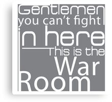 War Room Canvas Print