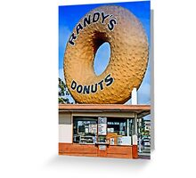 Have A Donut Greeting Card