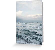 Misty Ocean Greeting Card