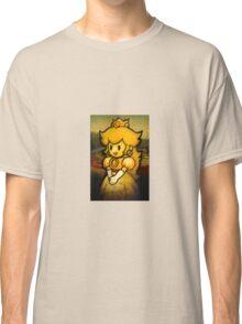Princess Peach Mona Lisa Classic T-Shirt