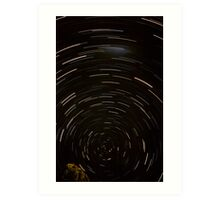 Stars Around South Celestial Pole Art Print