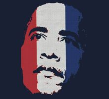 Obama Face Red White and Blue by barackobama