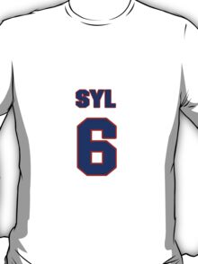 National Hockey player Syl Apps jersey 6 T-Shirt