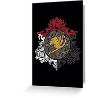 Fairy Tail Dragon Slayers logo Greeting Card