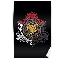 Fairy Tail Dragon Slayers logo Poster