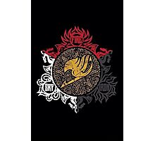 Fairy Tail Dragon Slayers logo Photographic Print