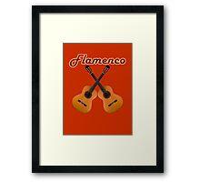 Spanish Flamenco Guitars Framed Print