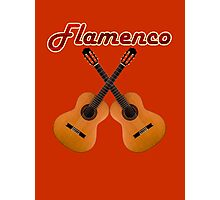 Spanish Flamenco Guitars Photographic Print