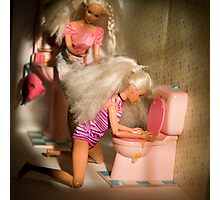 Bad Barbie 2 Photographic Print
