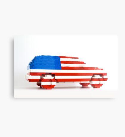 American SUV Metal Print