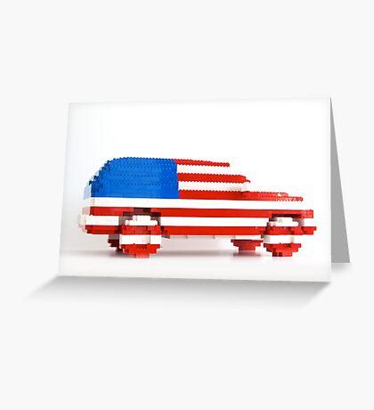 American SUV Greeting Card