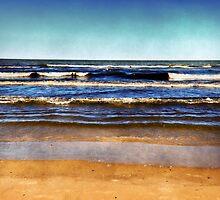 Summer Waves by SRowe Art