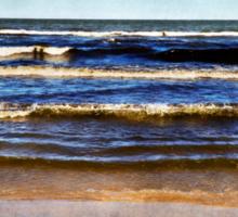 Summer Waves Sticker