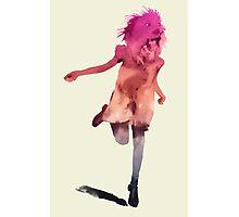 Lion girl Photographic Print