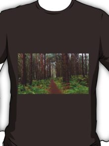 Magical Scottish forest  T-Shirt