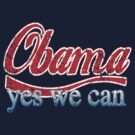 Obama Yes We Can Red White and Blue by barackobama