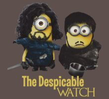 Jon Snow and Sam Tarly Minions  by minionsfanboy