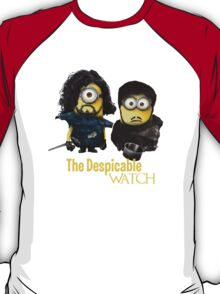 Jon Snow and Sam Tarly Minions  T-Shirt