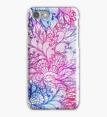 Hand drawn floral ornament iPhone Case/Skin
