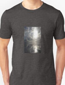 Reflections After The Storm - Abstract Seascape T-Shirt
