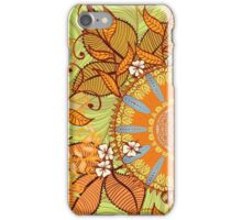 Autumn herbs iPhone Case/Skin