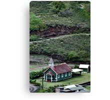Kahakuloa Village - Maui Canvas Print